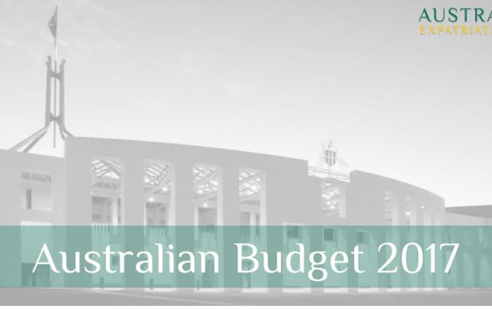 Australian Budget 2017 - Key Overview for Expats - Australian Expatriate Group - Fee-Based Financial Planners for Australian Expats in Singapore