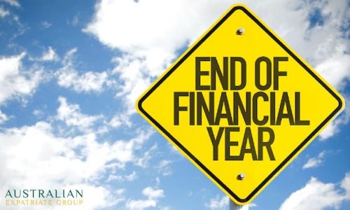 End of Financial Year for Australian Expats - Australian Expatriate Group - Australian Expat Financial Planning Singapore