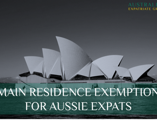 Main Residence Exemption to Hit Aussie Expats