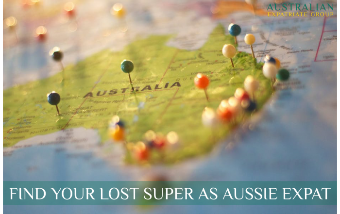 Aussie Expats - Find Your Lost Super - Australian Expatriate Group - Financial Planners for Aussie Expats in Singapore