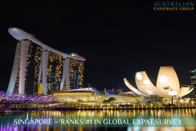 Singapore - Ranked First Amongst Aussie Expats - Australian Expatriate Group - Financial Planners for Aussie Expats in Singapore