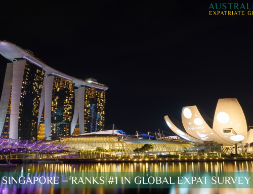 Singapore – Ranked #1 Amongst Aussie Expats